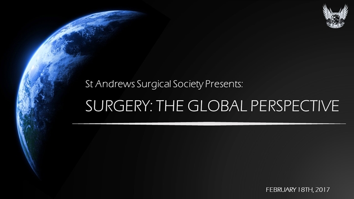 SURGERY- THE GLOBAL PERSPECTIVE