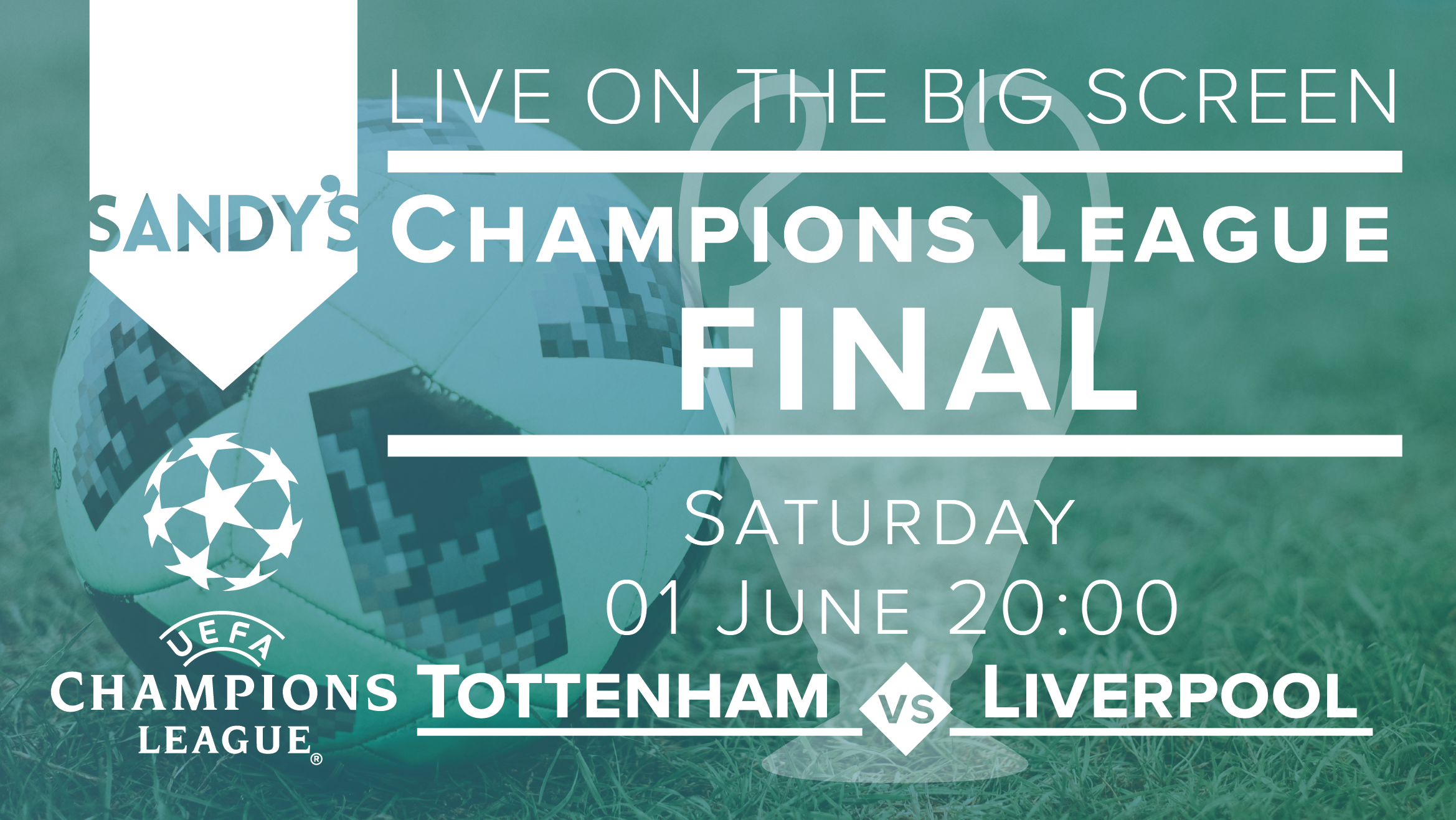 Champions League - Sandy's Bar - 01/06/19 20:00