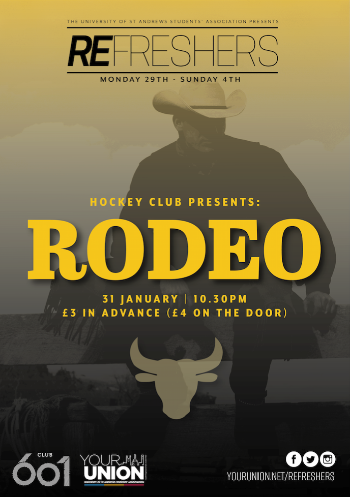 Refreshers' and Hockey Club Present: Rodeo Night