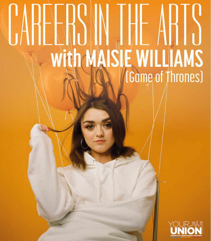 Careers in the Arts with Maisie WIlliams