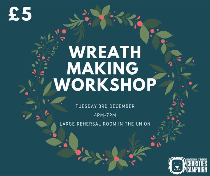 Wreath Making Workshop with Charities