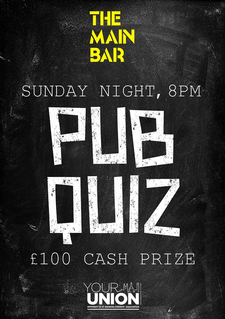 Sunday Pub Quiz