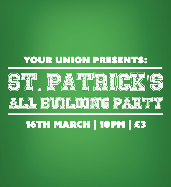 Your Union All Building St. Patricks Party