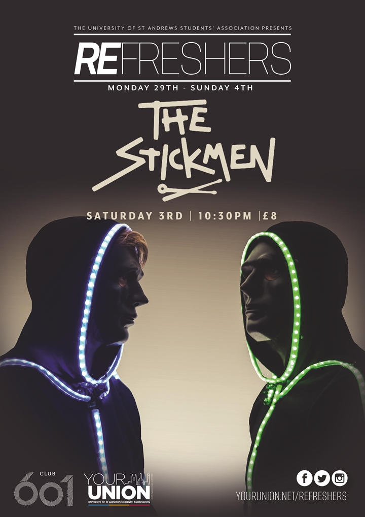 Refreshers' Presents: The Stickmen