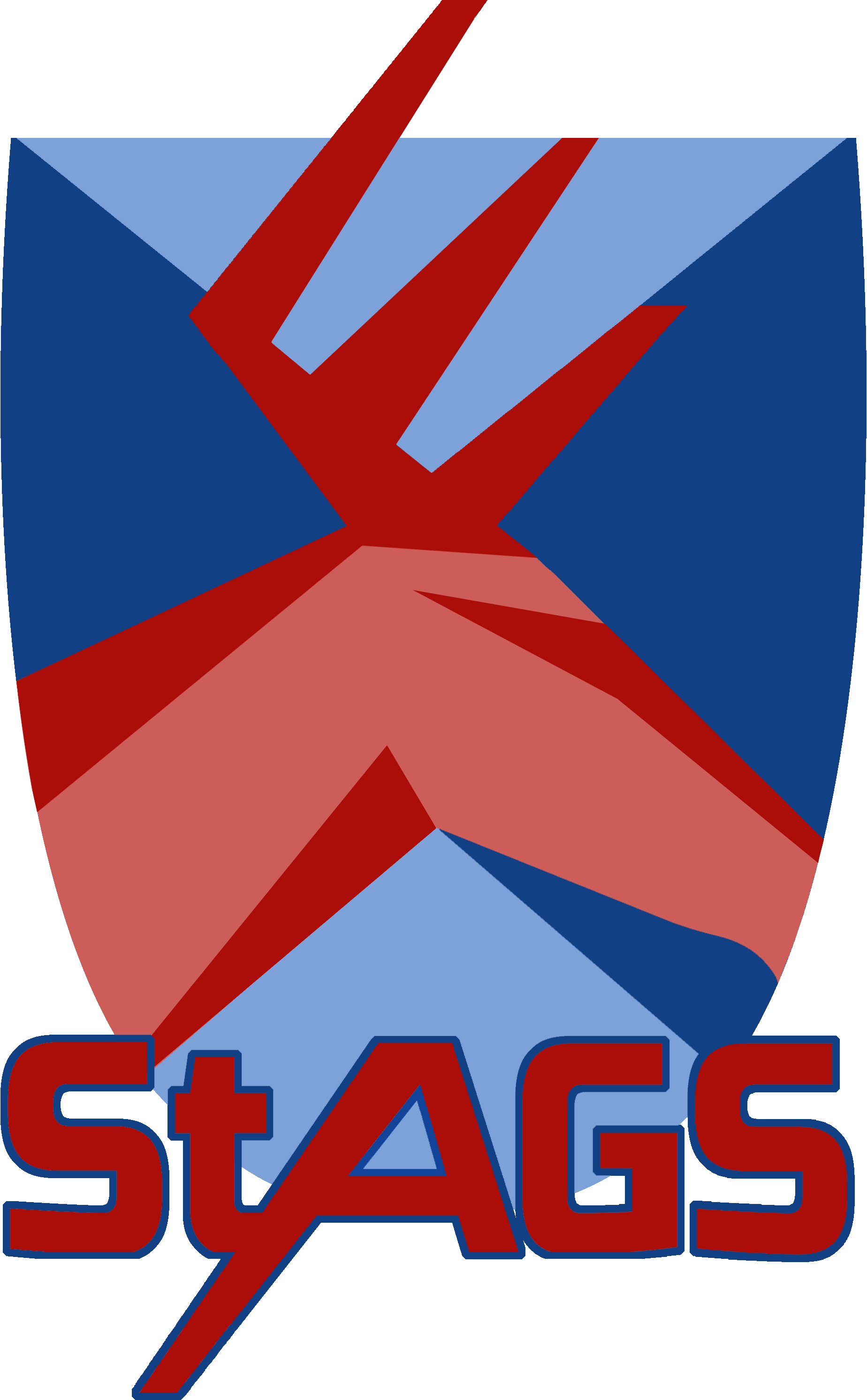 StAGS Esports logo done by Elspeth Rider of the Design Team.