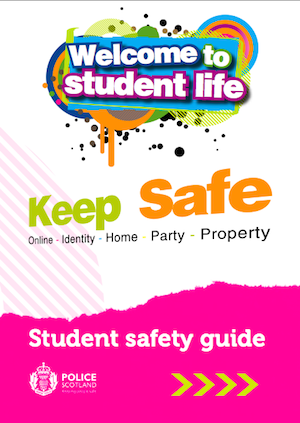Student Safety Campaign Booklet (Police Scotland)
