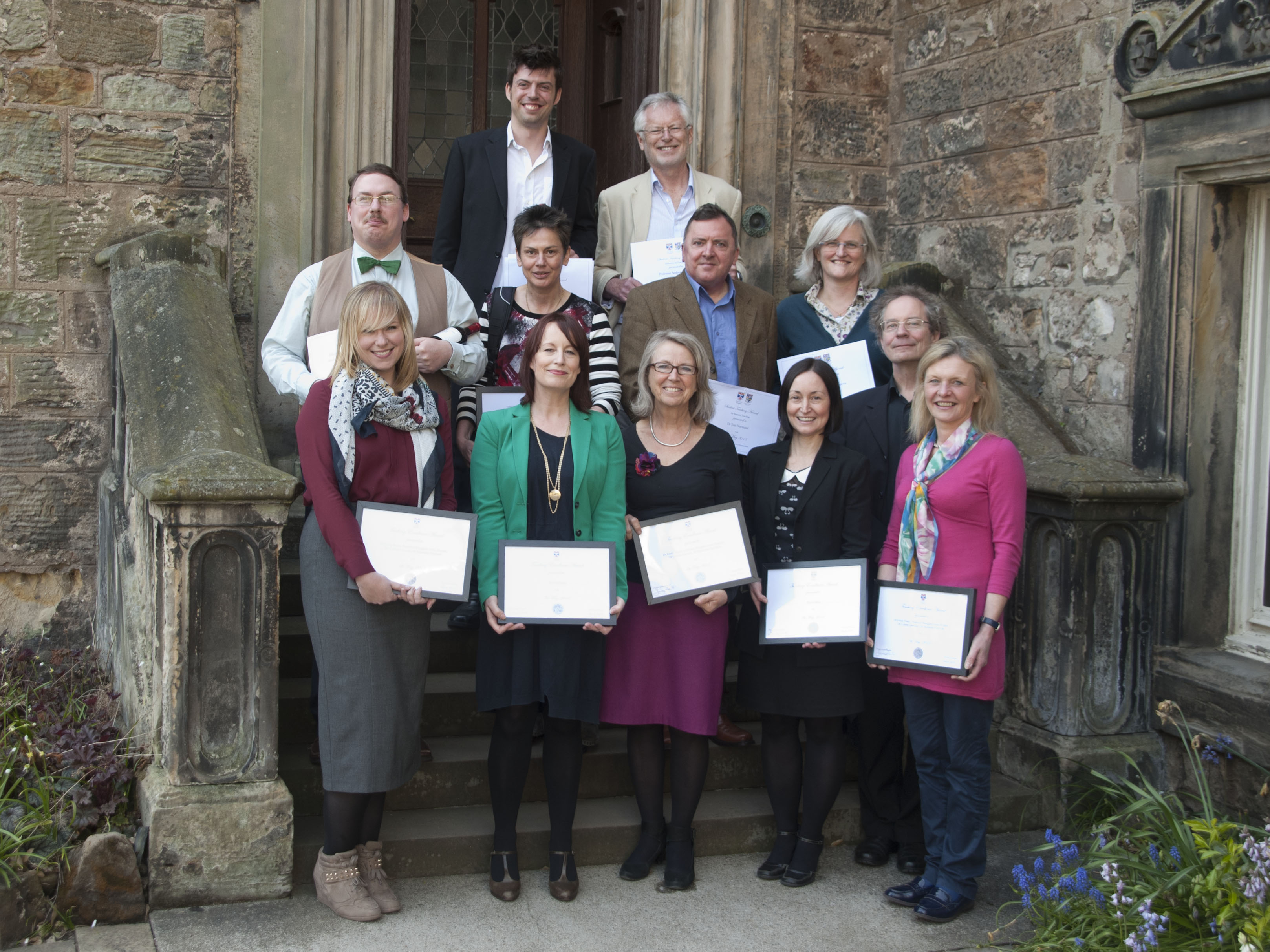 Winners of 2012-13 Students' Association Teaching Awards