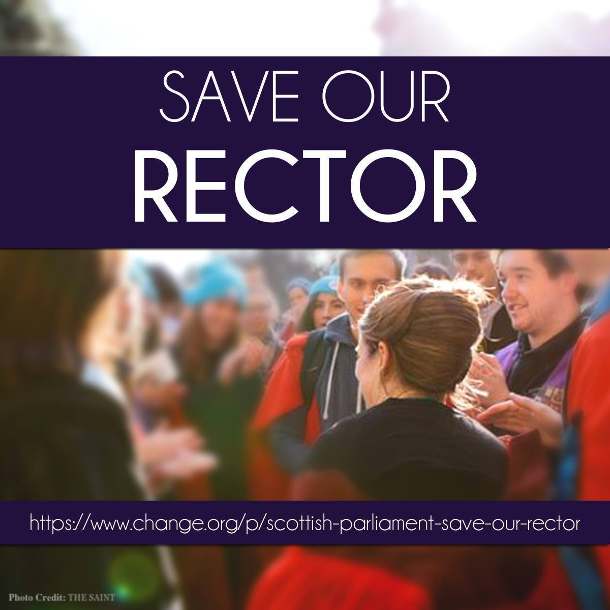 Save Our Rector Poster
